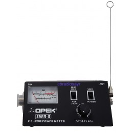 CB Radio Small and Handy Field Strength SWR/POWER Meter with 1m Patch Lead