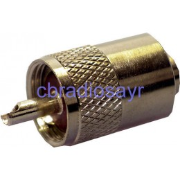PL259 7mm Plug suitable for CB Antenna Cable