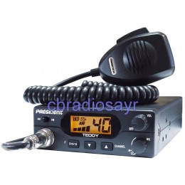 President Teddy ASC Multi Channel Mobile 12 Volt CB Radio