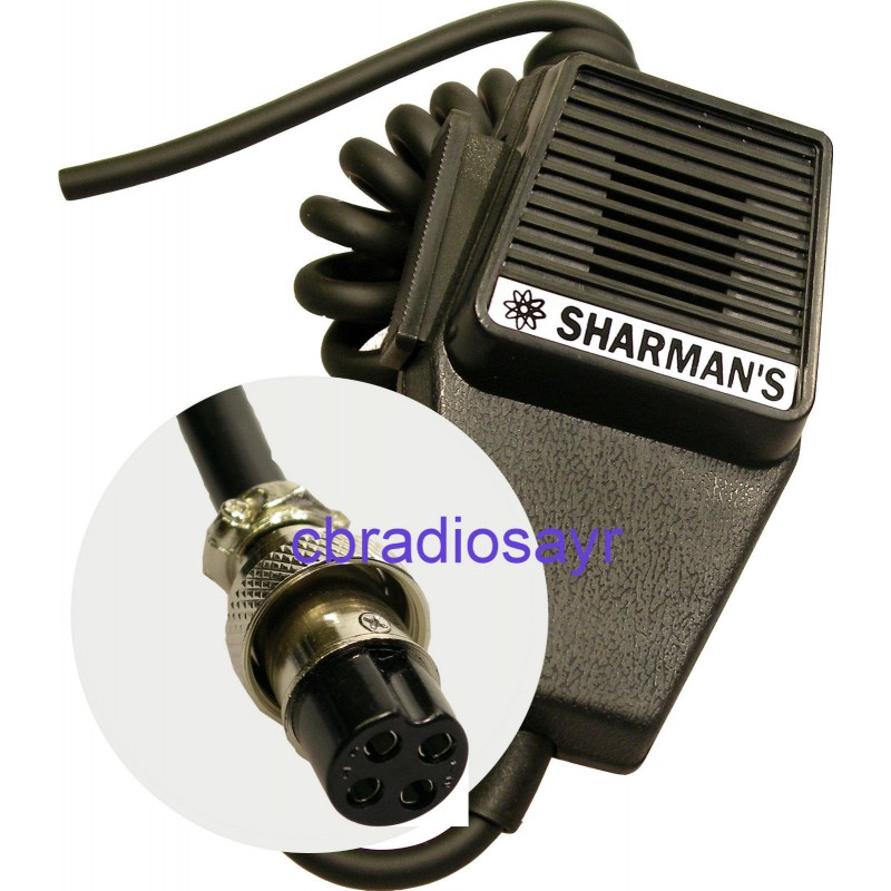 cb microphone 4 pin standard wiring amstrad midland etc replacement cb microphone 4 pin standard wiring amstrad midland etc