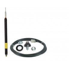 3/8 'N' Type Mount Kit with Modulator Style Bullwhip Aerial