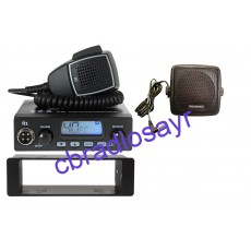 TTI TCB 550 Multi Channel CB Radio, DIN Bracket Facing Plate & Small CB Speaker