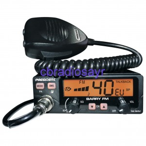 President Barry FM Only Dual Voltage CB Radio