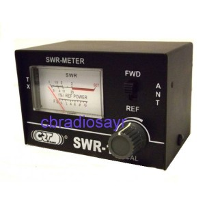 CB Radio Small and Handy SWR Meter with 1m Patch Lead