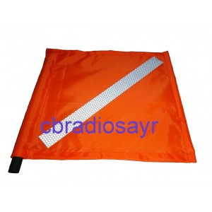 Orange Vehicle Safety Flag - Orange Flag