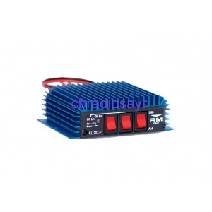 Mobile RM KL203/P 100 Watt Max Amplifier / Burner for CB Radios AM/FM - SSB
