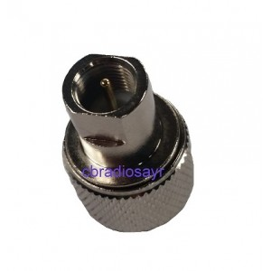 Male to PL259 Plug / Adaptor / Convertor for Volvo / Scania Trucks
