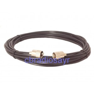 RG58 Coaxial Cable Patch Lead for CB Radio Antennas Aerials