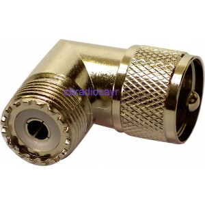 Right Angle Coupler / Adaptor Suitable for CB Radios