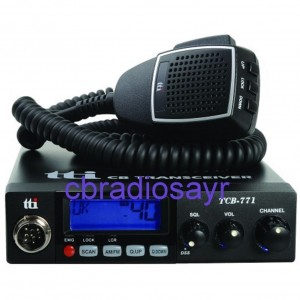 TTI TCB 771 Multi Channel 12/24 Volt CB Radio