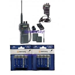 Midland Alan 42 DS Multi Handheld CB Radio with Batteries