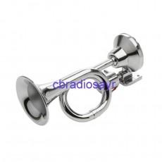 12v Only Chrome Trumpet Air Horns