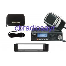 Midland Alan 78 Pro 12/24 Volt CB Radio, DIN Bracket Facing Plate & Small CB Speaker