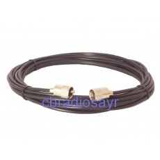 RG Mini 8 Low Loss 50 Ohm Patch Lead for CB Amateur Radios