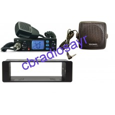 TTI TCB 560 Multi Channel CB Radio, DIN Bracket Facing Plate & Small CB Speaker