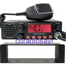 TTI TCB 900HP CB Radio AM/FM 12/24V with Front Speaker & DIN Bracket Facing Plate
