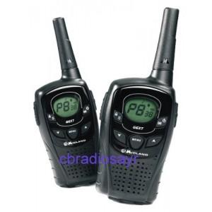 Midland G6 XT 2 Way Radios (Pair) Walkie Talkie PMR Radio Licence Free