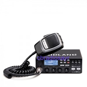 Midland Alan 48 Pro Multi Channel Duel Voltage 12/24 Volt CB Radio