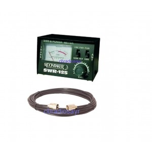 Moonraker CB Radio Small and Handy SWR/POWER Meter with 1m Patch Lead