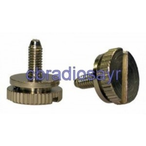 Side Screws for CB Radios Pack of Two